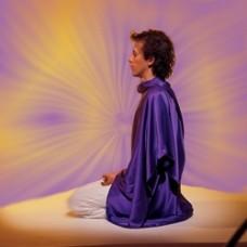 Tachyon zijden meditatiedoek